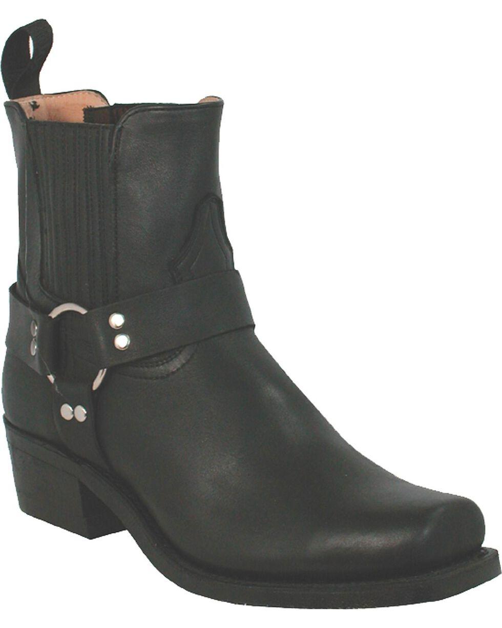 "Boulet Men's 9"" Motorcycle Harness Boots, Black, hi-res"