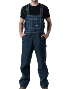 Dickies Men's Big Smith Rigid Bib Work Overalls , Indigo, hi-res