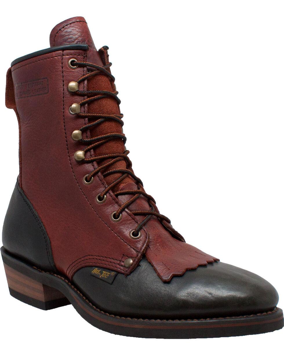 "Ad Tec Men's Packer 9"" Work Boots, Brown, hi-res"