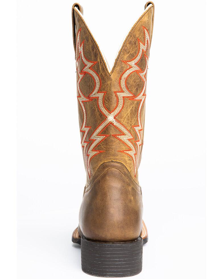 Cody James Men's Vanndale Western Boots - Wide Square Toe, Tan, hi-res