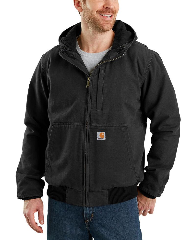Carhartt Men's Full Swing Armstrong Active Work Jacket , Black, hi-res