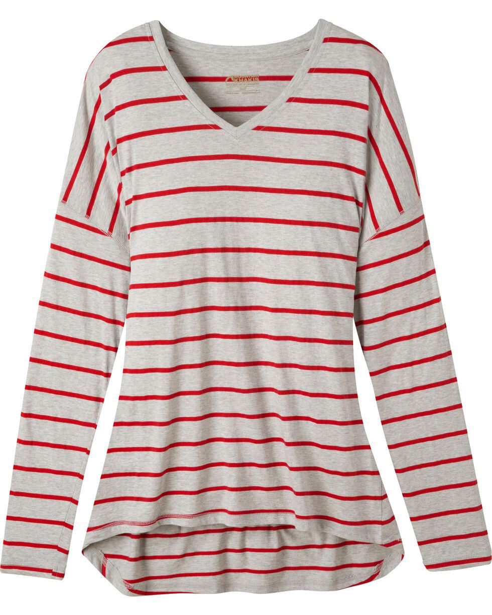 Mountain Khakis Women's Cora Long Sleeve Shirt, Charcoal Grey, hi-res