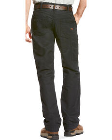 Ariat Men's FR M4 Black Workhorse Pants - Boot Cut, Black, hi-res