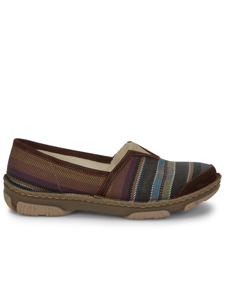 Tony Lama Women's Renata Black Serape Shoes - Round Toe, Black, hi-res