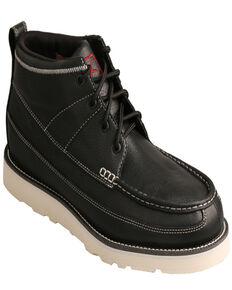 "Twisted X Men's 4"" Wedge Boots, Black, hi-res"