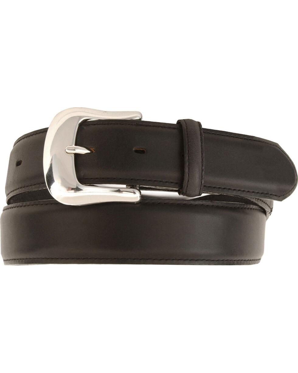 Tony Lama Men's Classic Genuine Leather Belt, Black, hi-res