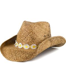 647858ef48847a Shyanne Daisy Hat Band Straw Hat