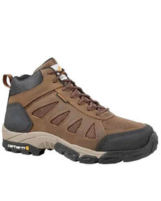Carhartt Men's Lightweight Hiker Work Boots - Carbon Toe, Brown, hi-res