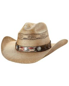 28795087f70044 Bullhide Women's Trailblazer Straw Hat