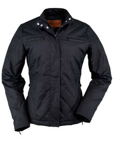 Outback Trading Co. Women's Stormy Oilskin Jacket, Black, hi-res
