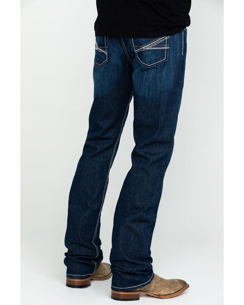 Cinch Men's Ian Dark Mid Slim Boot Jeans , Indigo, hi-res