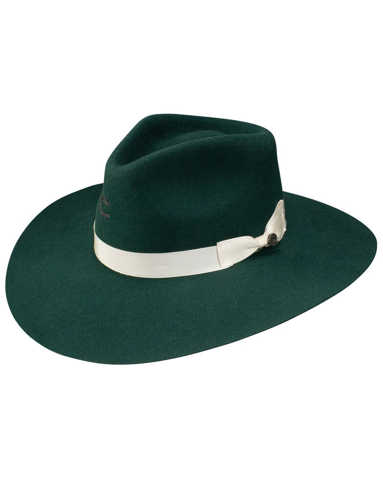 Charlie 1 Horse Women's Green Highway Western Wool Hat , Green, hi-res