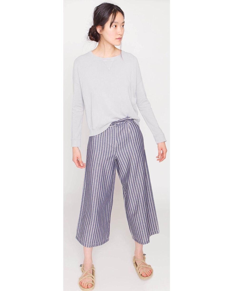 Friday's Project Women's Cropped Sweatshirt, Medium Grey, hi-res