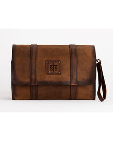 STS Ranchwear Foreman Hanging Dopp Kit, Brown, hi-res