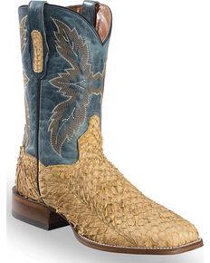 39d7c22f3f6 Dan Post Men s Sand Sea Bass Stockman Boots - Square Toe