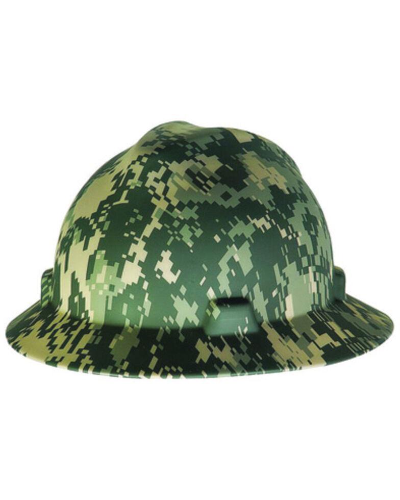 MSA Camo Full Brim Hard Hat, Camouflage, hi-res