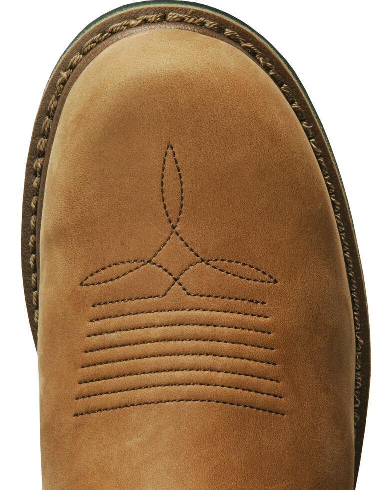 John Deere® Men's Mossy Oak Wellington Boots, Tan, hi-res