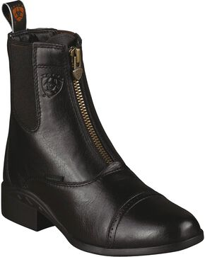 Ariat Women's Heritage Breeze Paddock Boots, Black, hi-res
