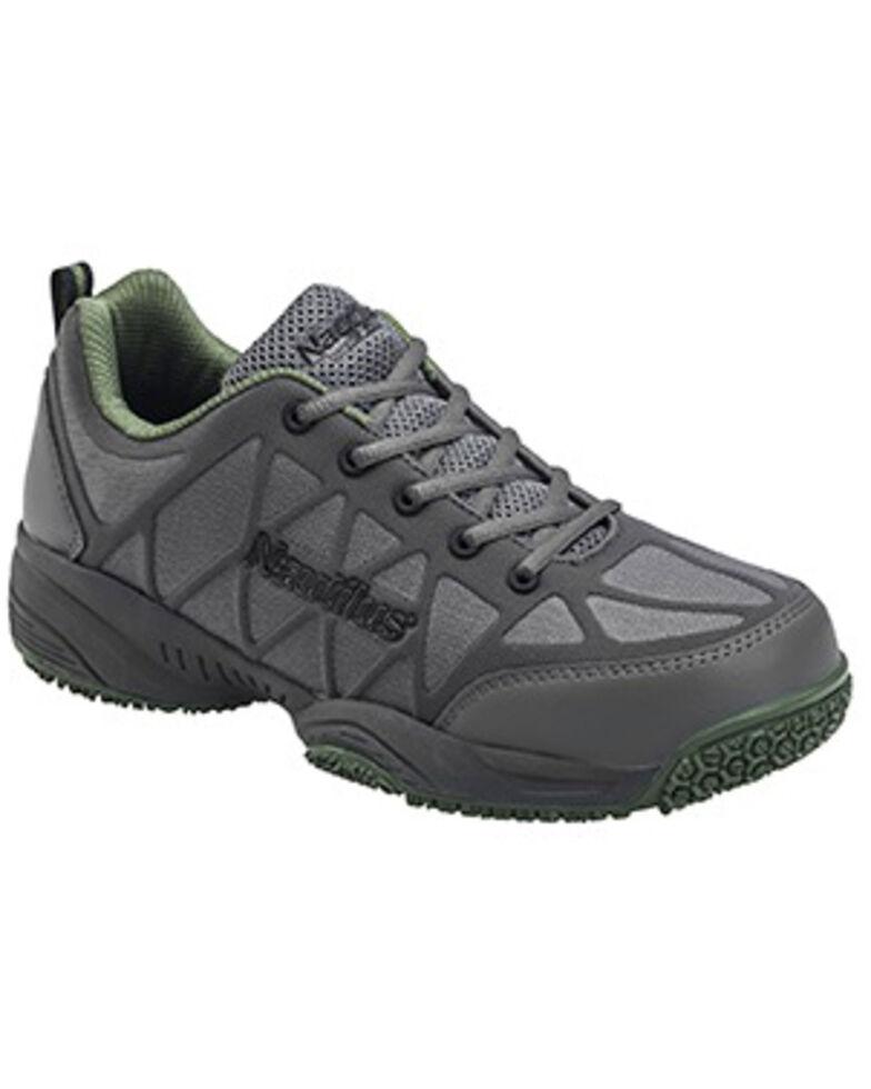 Nautilus Men's Lightweight Athletic Work Shoes - Composite Toe, Grey, hi-res
