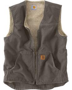 Carhartt Men's Rugged Vest, Grey, hi-res