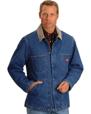 Dickies Stonewashed Denim Chore Jacket, Indigo, hi-res