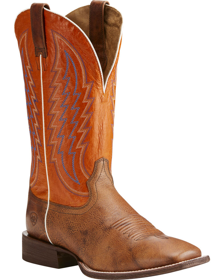 Ariat Men's Circuit Stride Western Boots, Brown, hi-res
