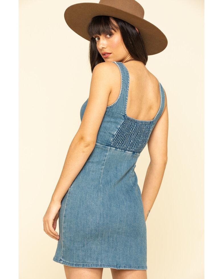 Show Me Your Mumu Women's Denim Cora Dress, Blue, hi-res