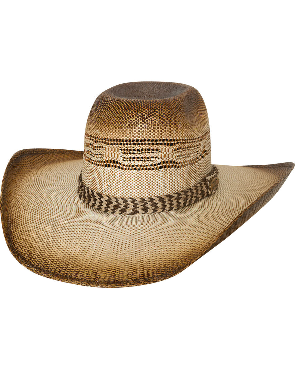 Bullhide Men's Natural Rushmore Straw Cowboy Hat , Natural, hi-res