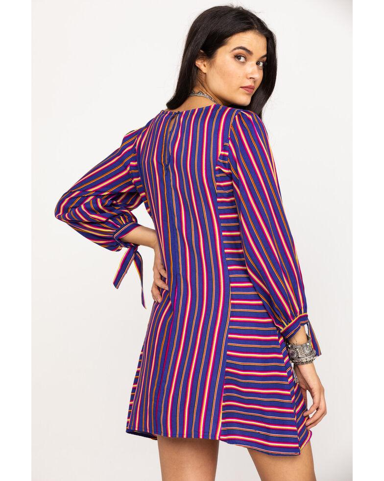 Rock & Roll Cowgirl Women's Striped Dress , Multi, hi-res