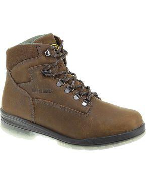 Wolverine Men's DuraShocks® Waterproof Insulated Work Boots, Stone, hi-res