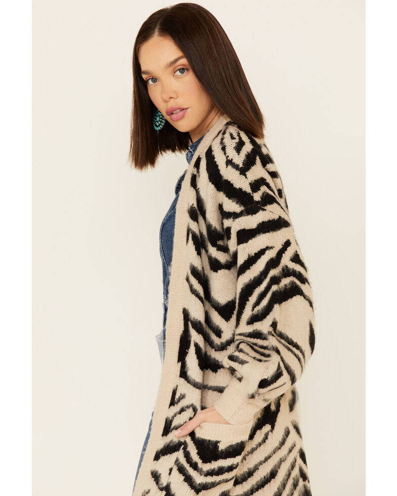 Show Me Your Mumu Women's Multi Tiger Out & About Cardigan, Multi, hi-res