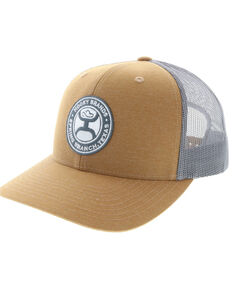 HOOey Men's Guadalupe Ball Cap , Tan, hi-res