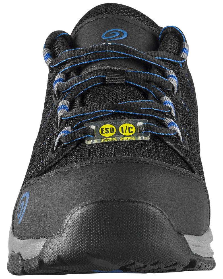 Nautilus Men's Accelerator Work Shoes - Composite Toe, Black, hi-res