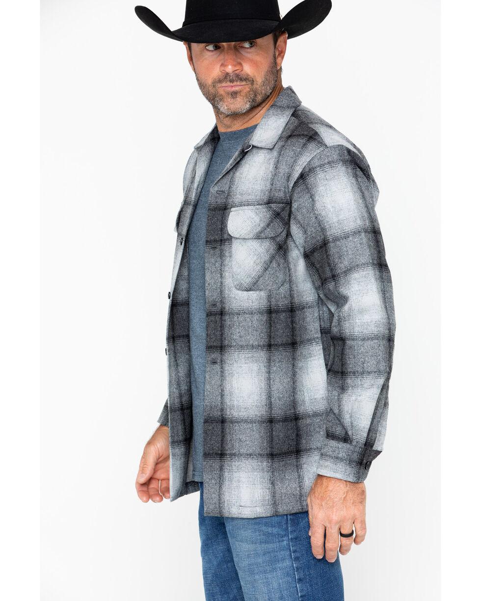 Pendleton Men's Original Board Shirt, Grey, hi-res