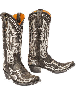 "Old Gringo Women's Nevada Heavy 13"" Western Fashion Boots, Black, hi-res"