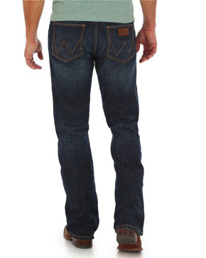 Wrangler Retro Men's Slim Boot Jeans - Big & Tall , Blue, hi-res