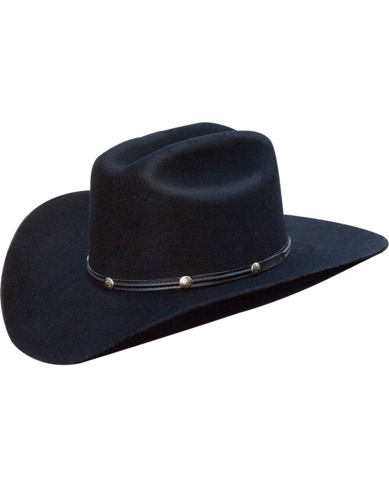 Silverado Men's Cole Western Hat  , Black, hi-res