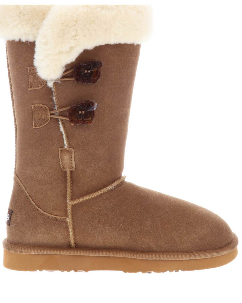 Lamo Footwear Women's Alice Winter Boots - Round Toe, Chestnut, hi-res