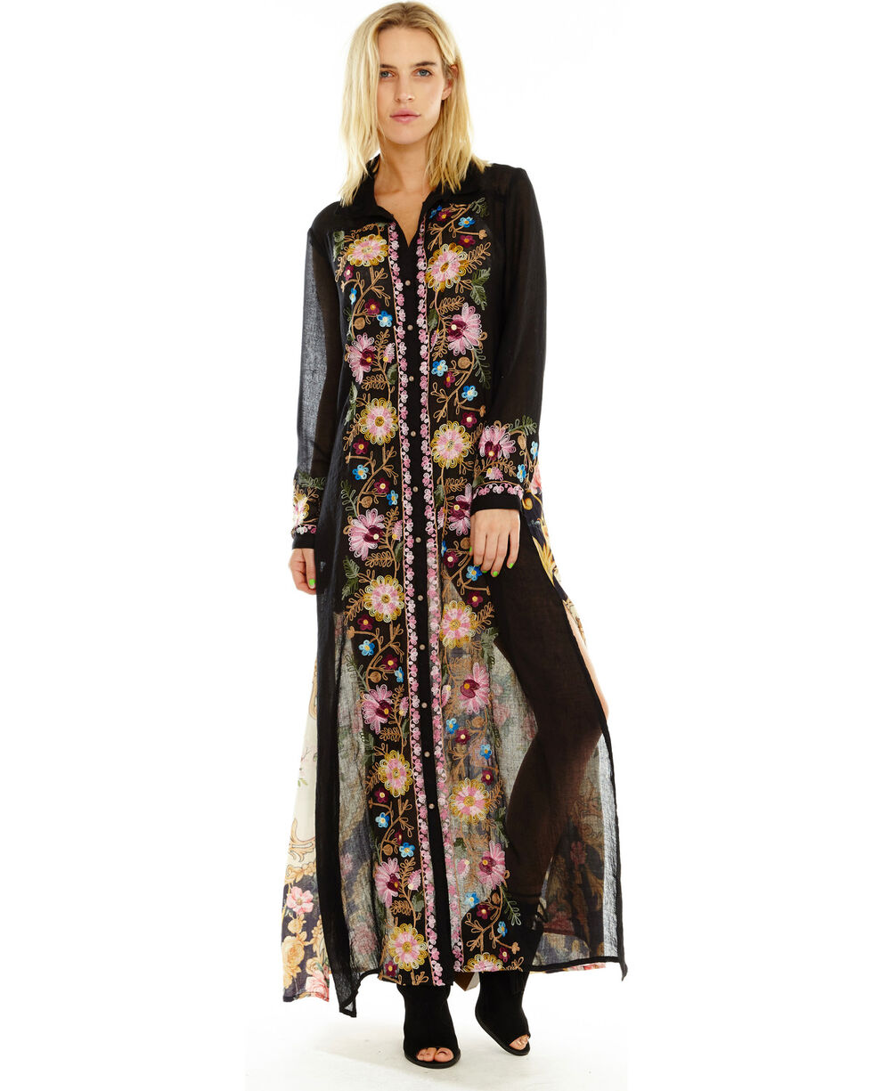 Aratta Women's To Blend With Maxi, Black, hi-res