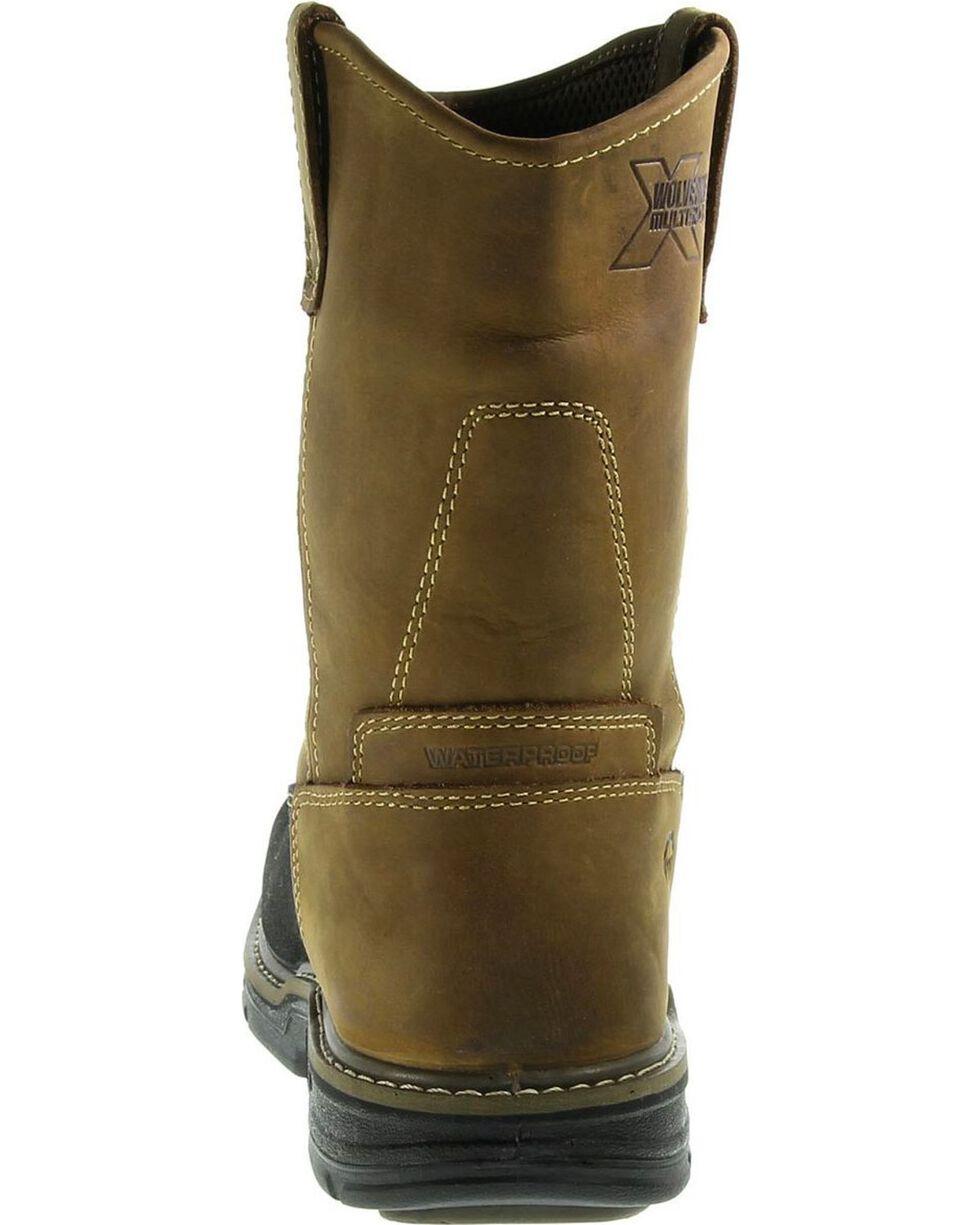 Wolverine Men's Corsair Waterproof Comp Toe Wellington Boots, Brown, hi-res