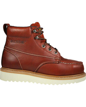 Wolverine Men's T-Bone Steel Toe Work boots, Rust Copper, hi-res
