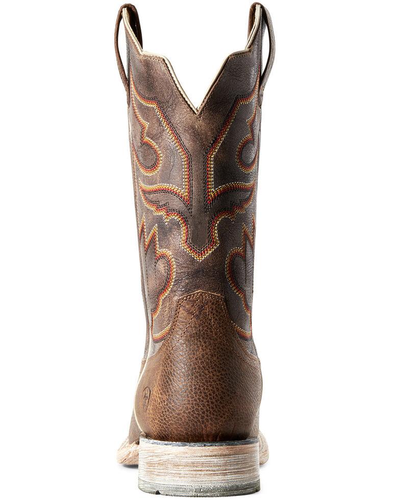 Ariat Men's Sorting Pen Western Boots - Square Toe, Brown, hi-res