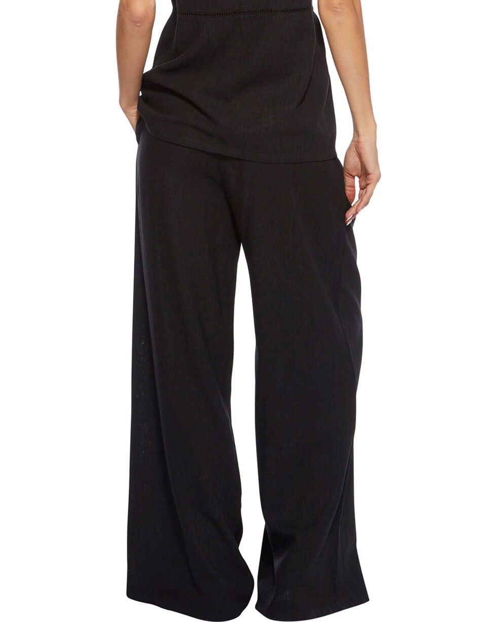 Angel Premium Women's Black Davis Pants , Black, hi-res