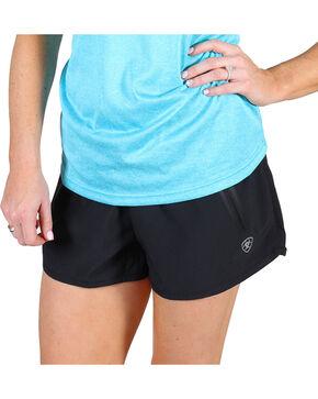 AriatTek Women's Mesa Active Shorts, Black, hi-res