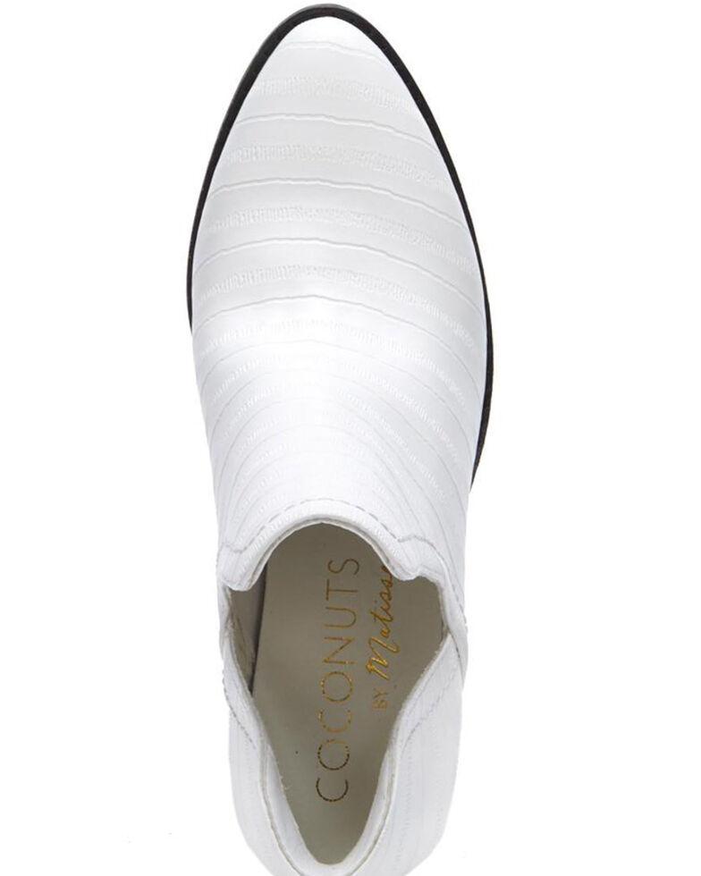 Matisse Women's Trader Fashion Booties - Round Toe, White, hi-res