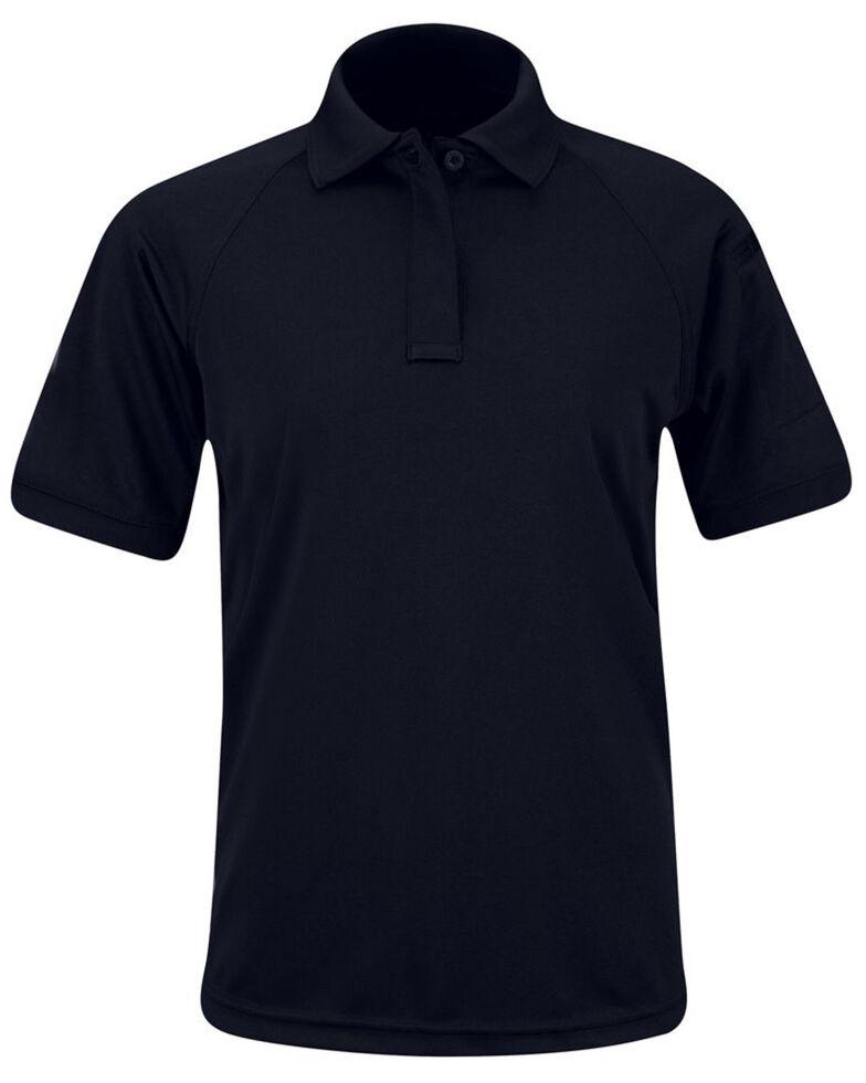 Propper Women's Solid Uniform Short Sleeve Work Polo Shirt , Navy, hi-res