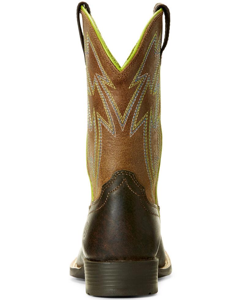 c09dbc8a66e Ariat Youth Boys' Espresso Crossdraw Western Boots - Wide Square Toe