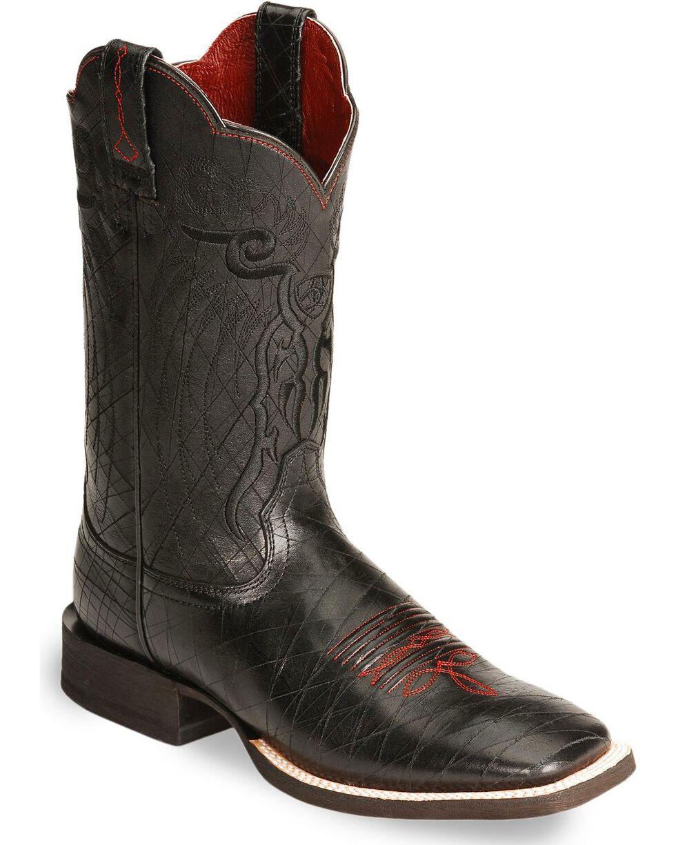 Ariat Men's Mesteno Western Boots, Black, hi-res