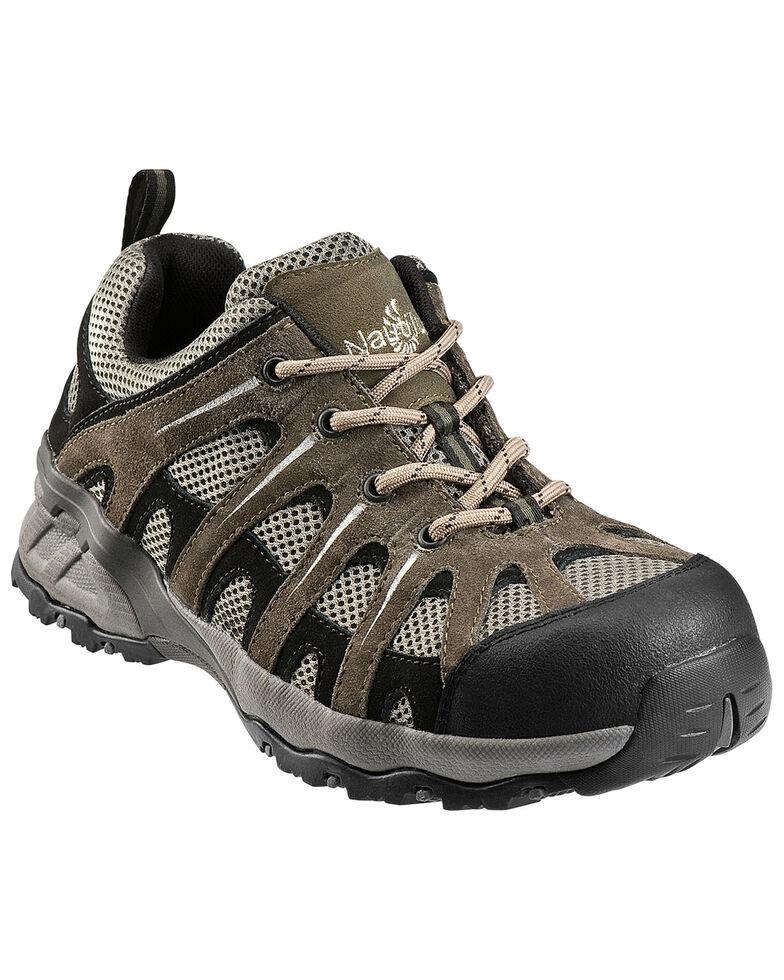 Nautilus Men's Composite Toe EH Athletic Work Shoes, Khaki, hi-res