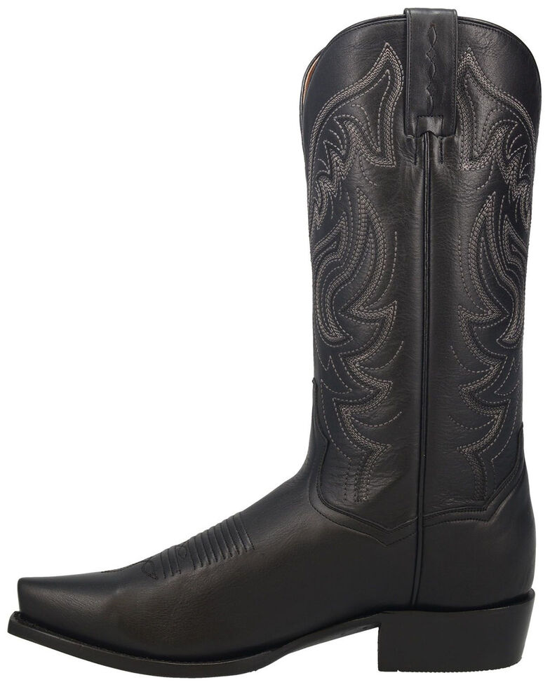 Dan Post Men's Wind River Western Boots - Snip Toe, Black, hi-res